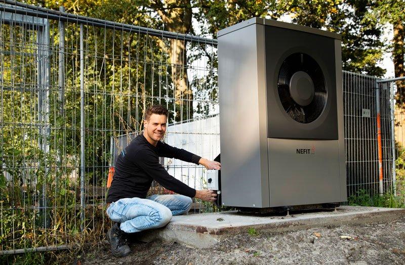 Verwarming Nefit installatie Berlicum